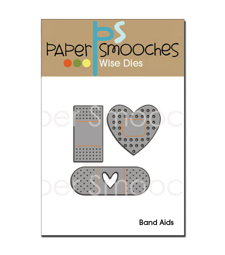 Paper Smooches Die-Band Aids