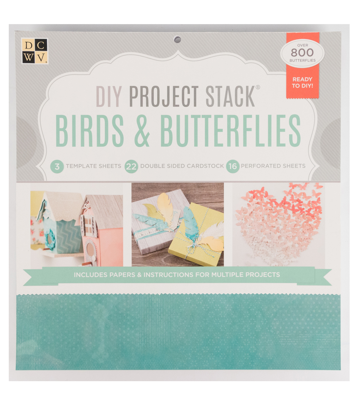 DCWV DIY Project Stack: Birds and Butterflies