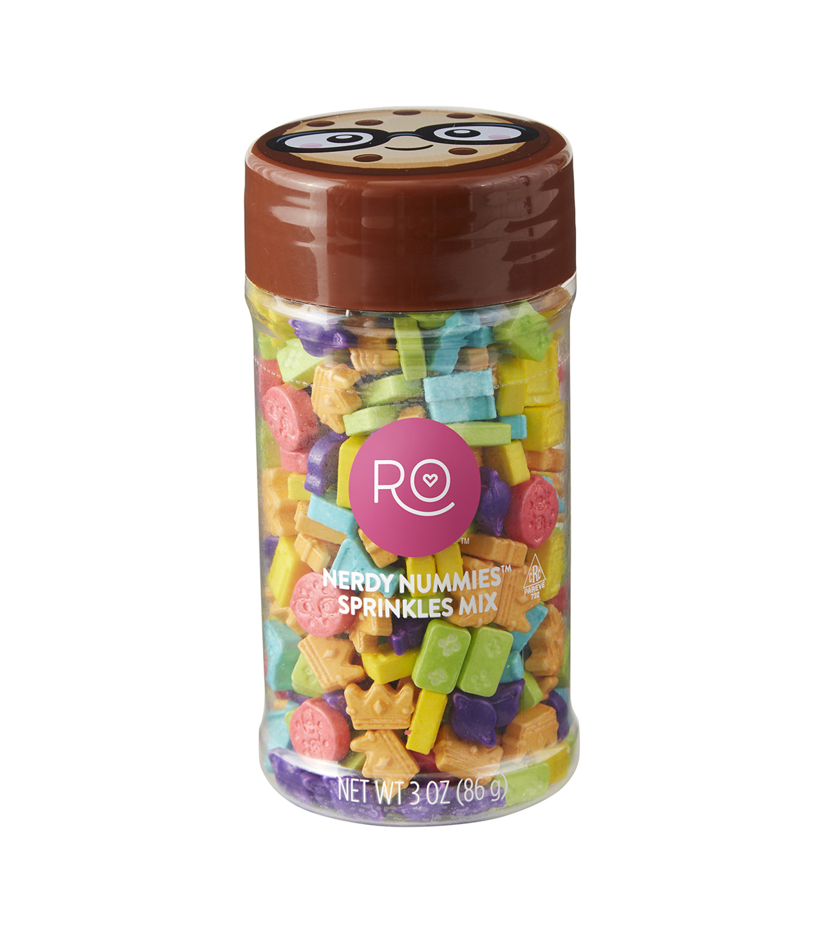 Rosanna Pansino By Wilton 3oz Nerdy Nummies Sprinkles Mix