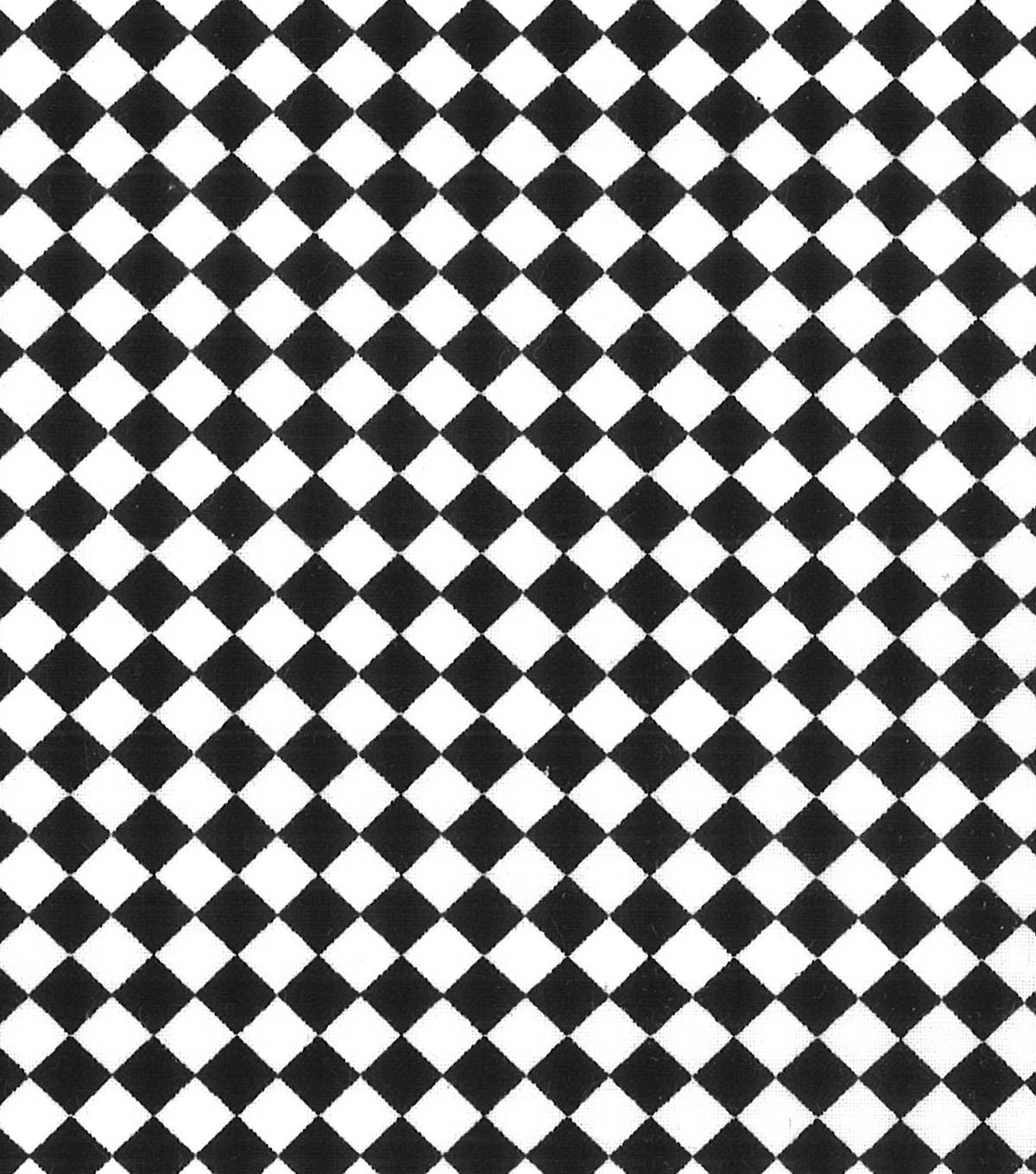 Quilter\u0027s Showcase™ Fabric 44\u0027\u0027-Black Checker