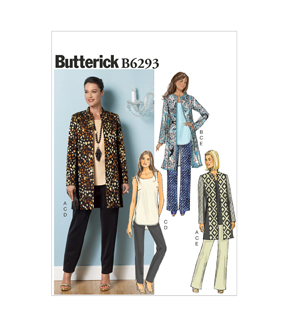 Butterick Misses Casual-B6293