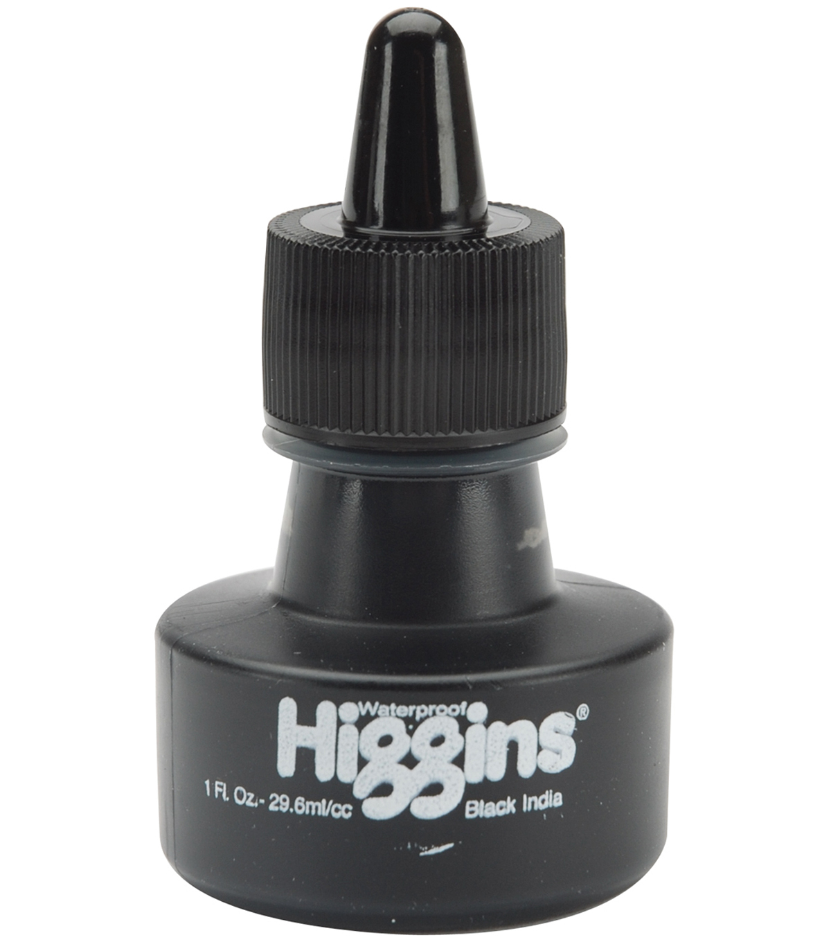 Chartpak Higgins India Ink 1oz-Matte Black