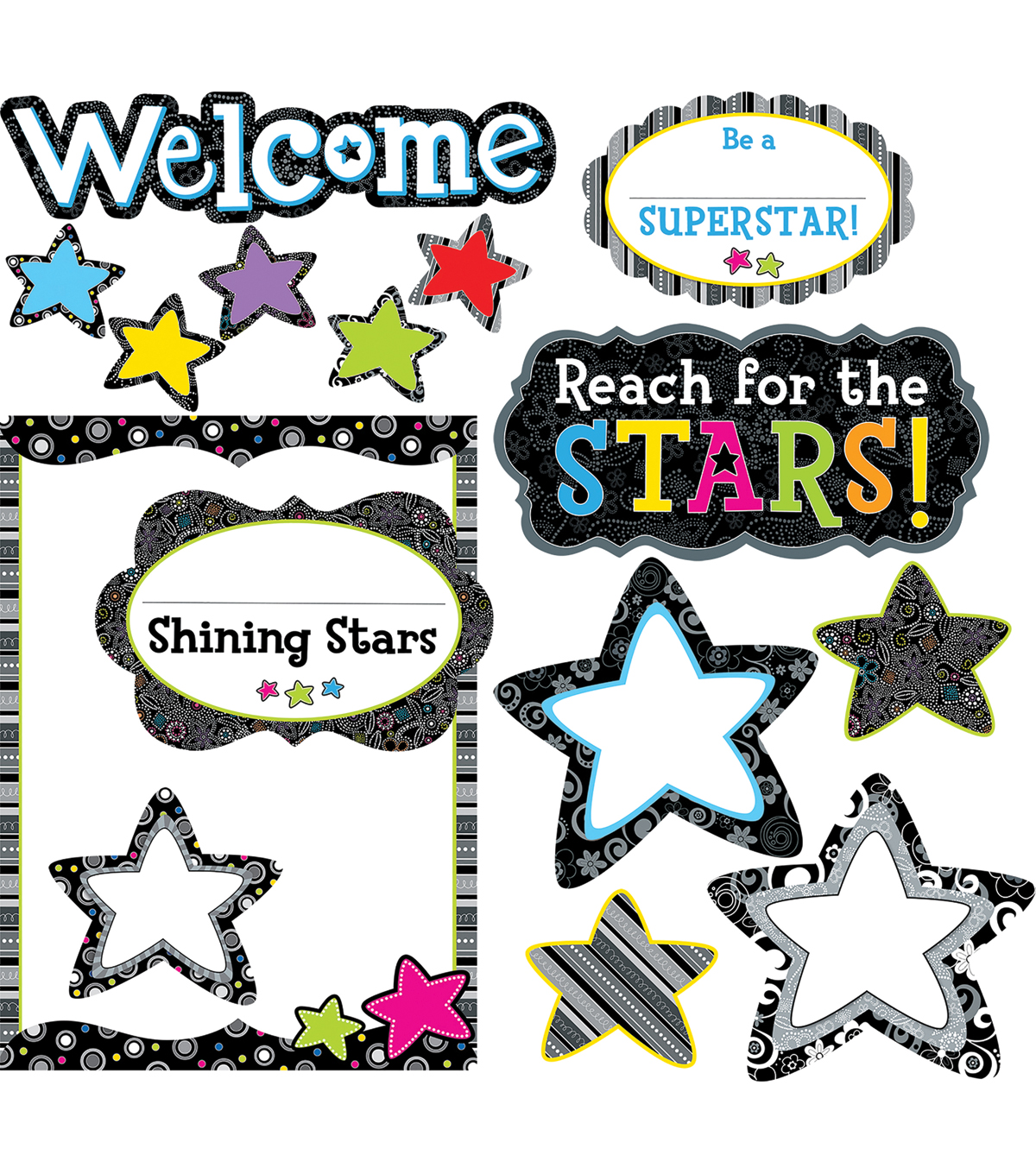 Shining Stars Bulletin Board Set