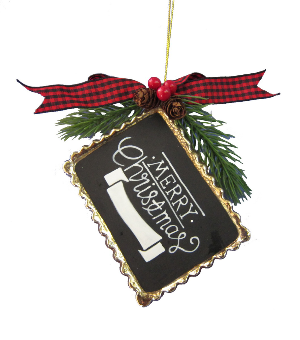 Maker's Holiday Christmas Chalkboard Ornament