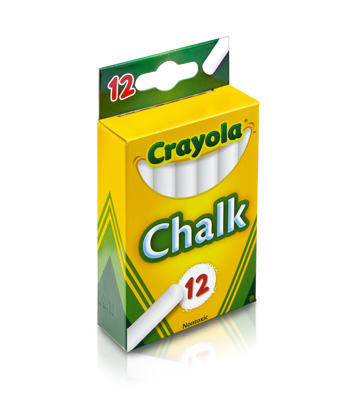 Crayola 12 Ct White Chalk