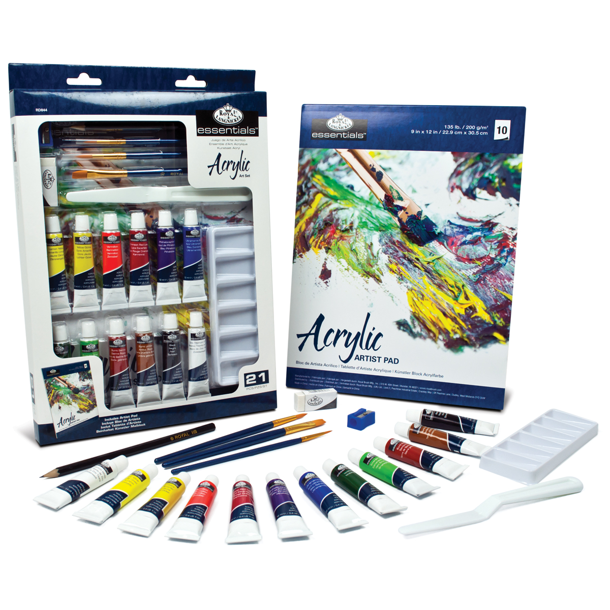 Royal Langnickel Essentials Art Set Acrylic Painting
