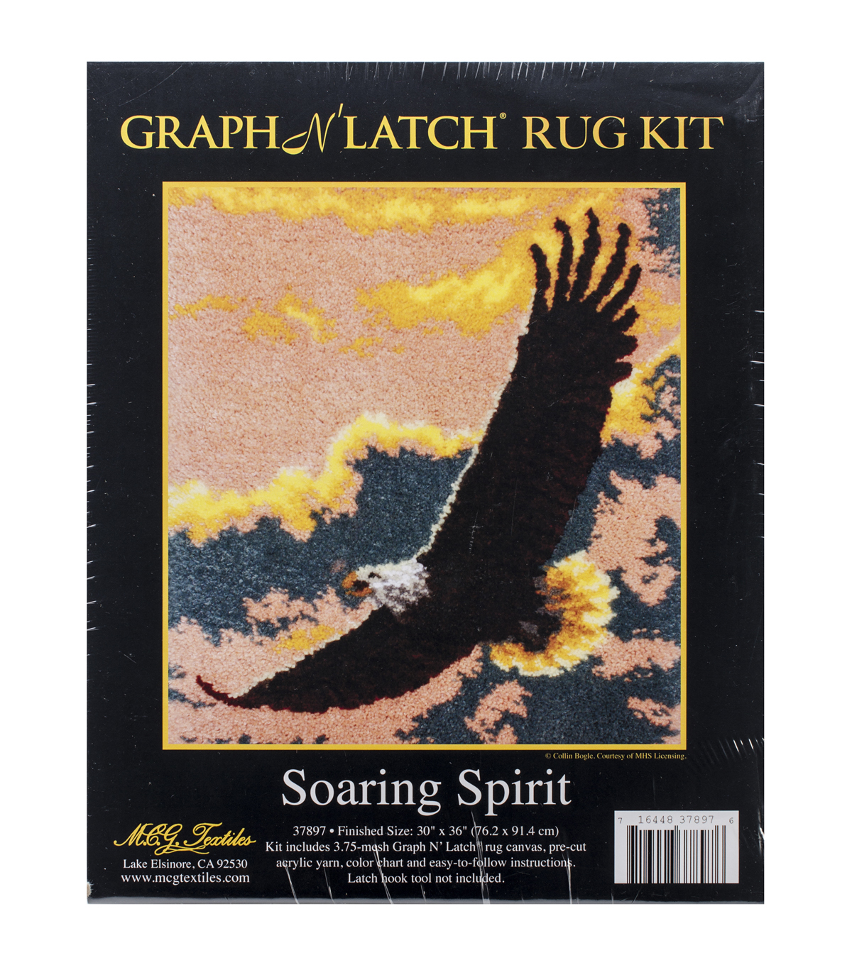 "Latch Hook Kit 30""X36""-Soaring Spirit"