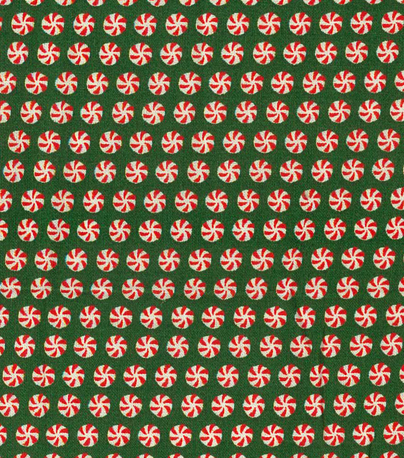 Keepsake Calico™ Holiday Cotton Fabric 43\u0022-Ditsy Peppermints