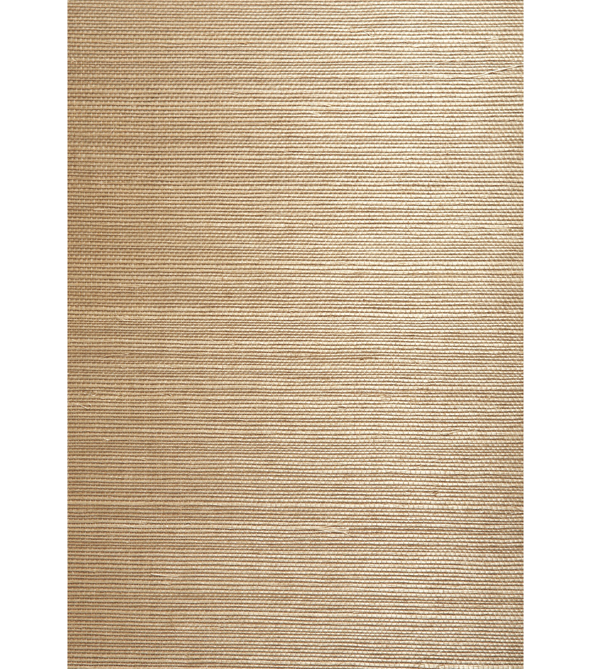 Chang Taupe Grasscloth Wallpaper Sample