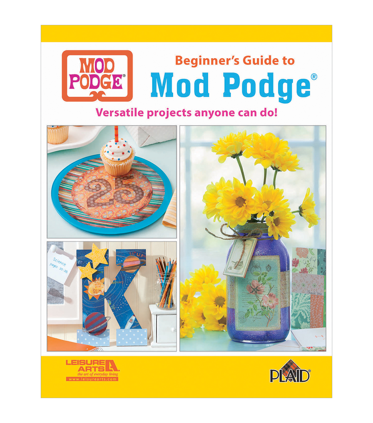 Beginner\u0027s Guide To Mod Podge Craft Book