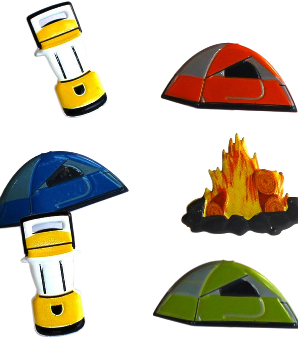 Eyelet Outlet Shape Brads-Camping