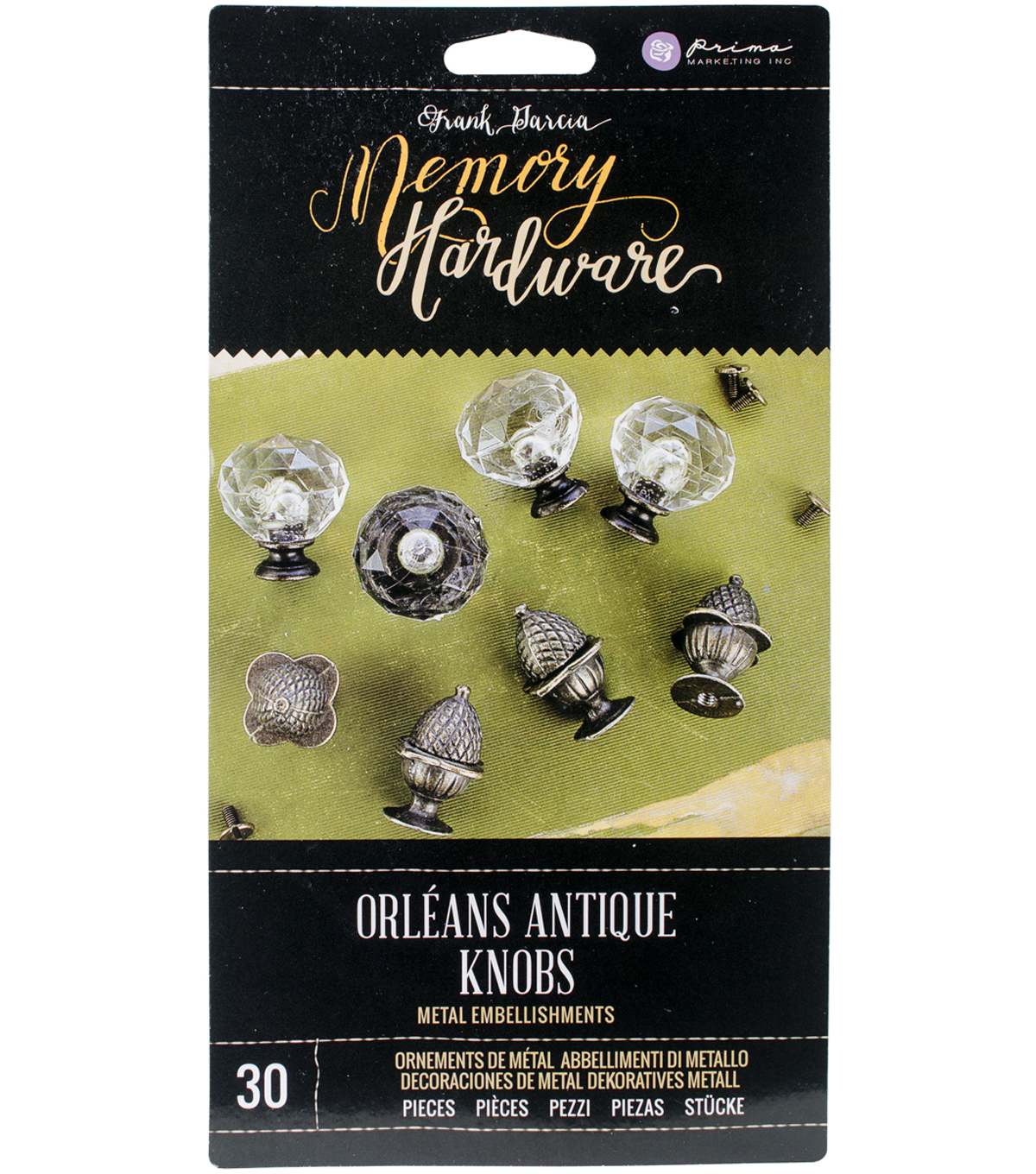 Prima Marketing Memory Hardware Orleans Antique Knobs