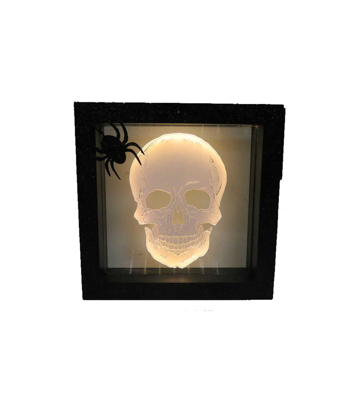 Maker\u0027s Halloween LED Plastic Word Block-Skull