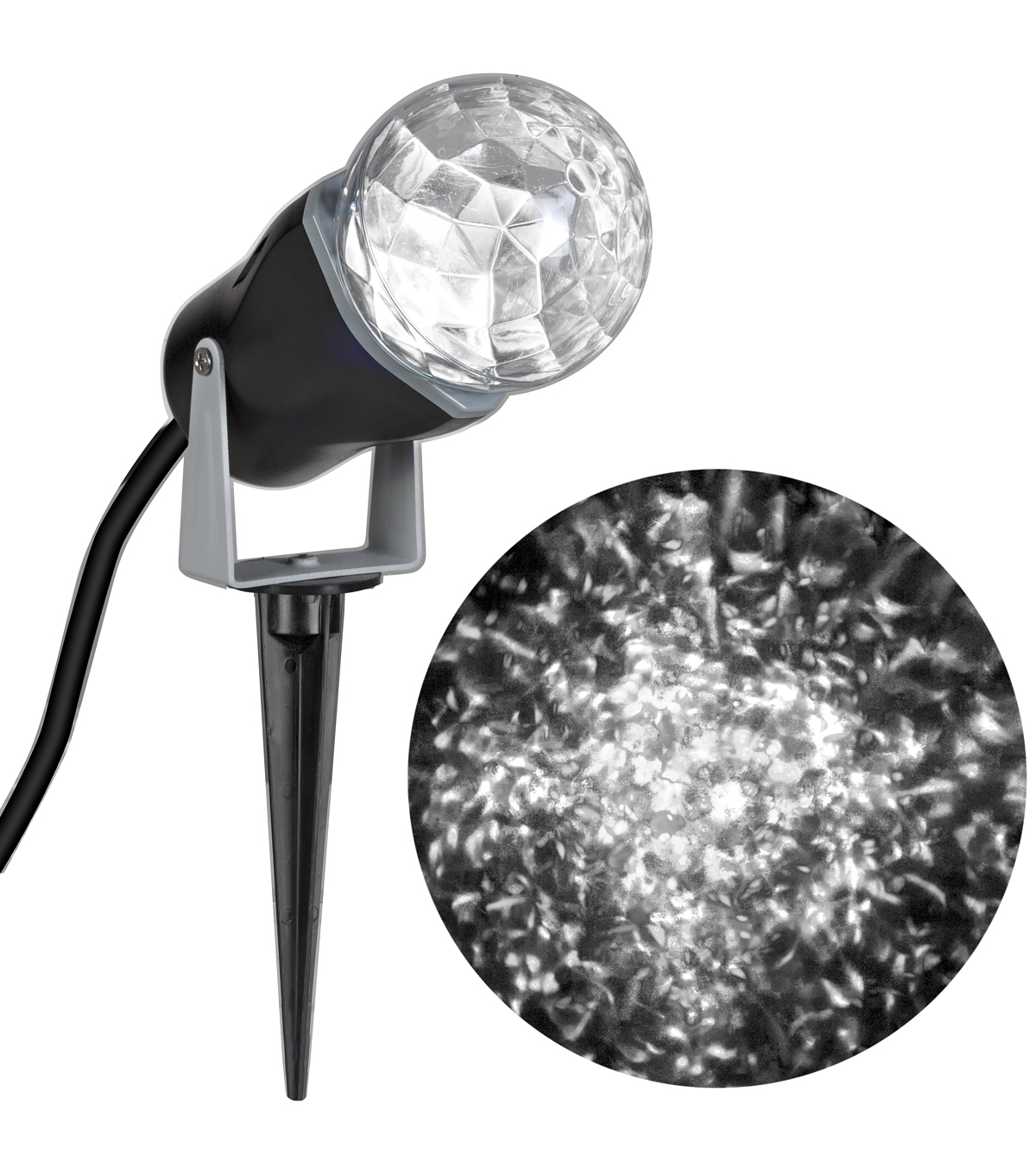 Maker\u0027s Holiday White Light Kaleidoscope Projector
