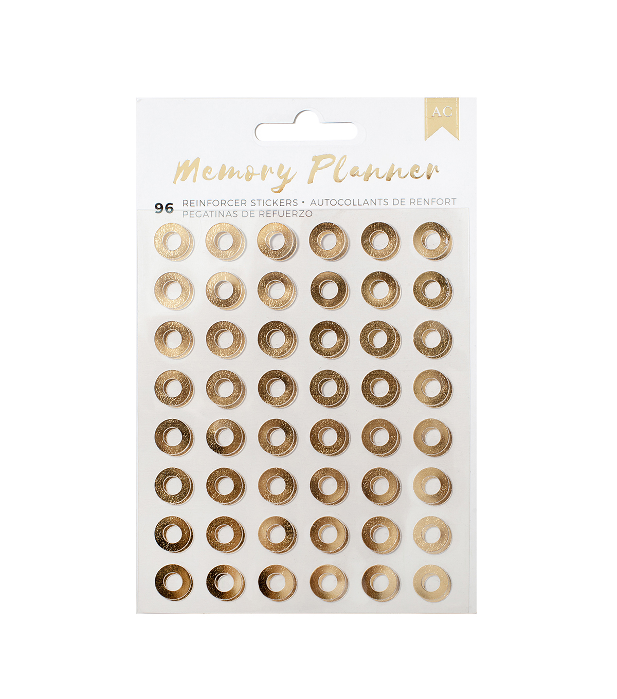 American Crafts™ Memory Planner Reinforcement Stickers