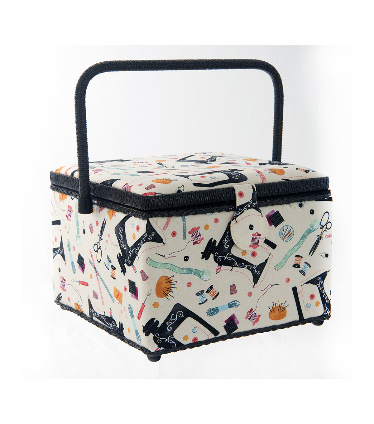 Large Square Sewing Basket-Sew Notions
