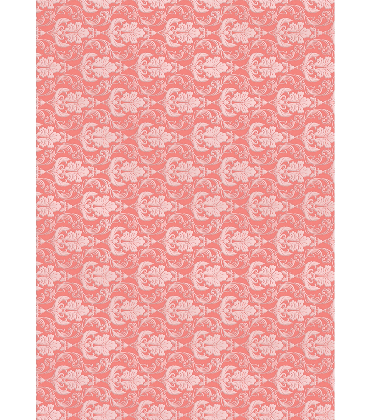 Kanban The Mitford Collection Hvywt Bkrnd Card Sheet-Filigree Coral