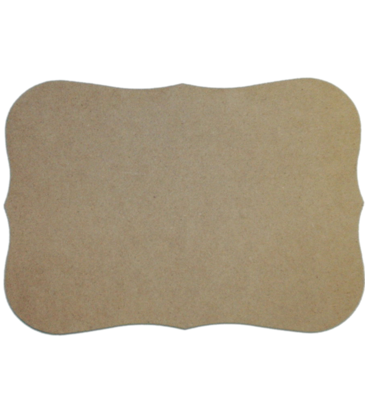 Unfinished MDF Plaque 1/Pkg-Roman 7.5\u0022X10.5\u0022
