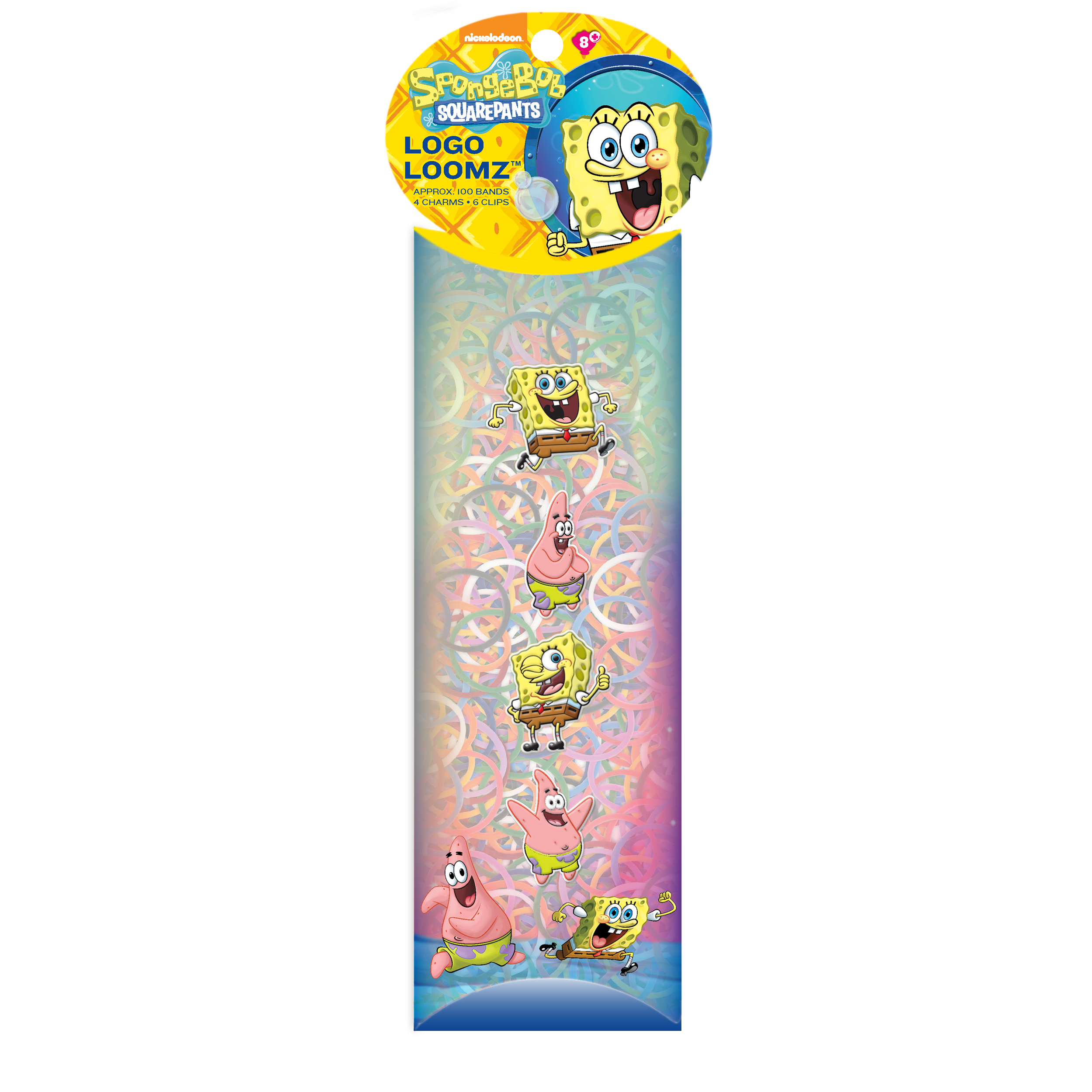 Forever Collectibles Charm Pack Nickelodeon® Spongebob Squarepants