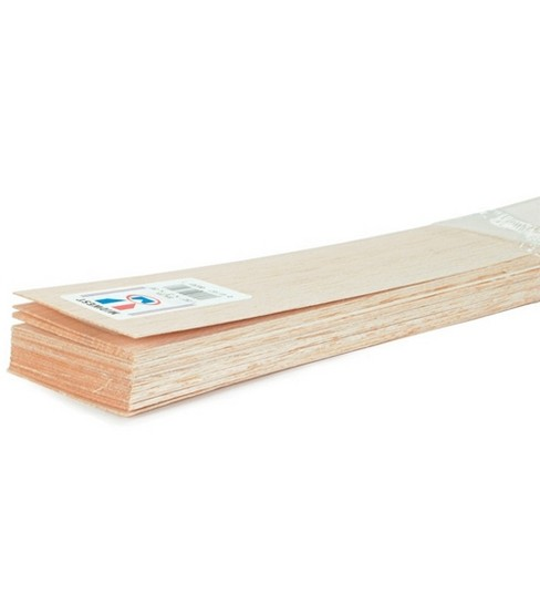 "Balsa Wood Sheet 36""-1/4""X1""-10PK"