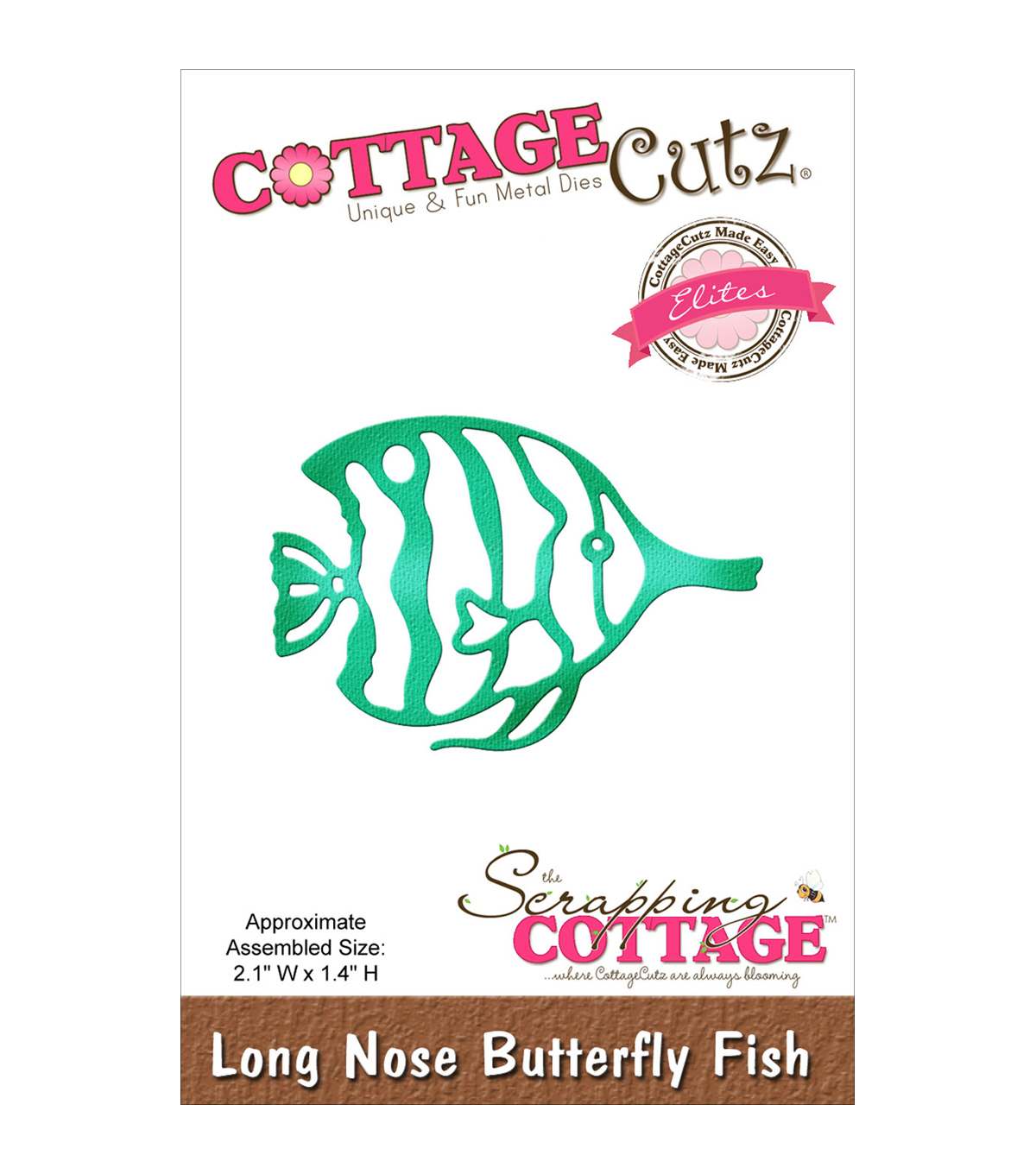 CottageCutz Elites Die-Long Nose Butterfly Fish