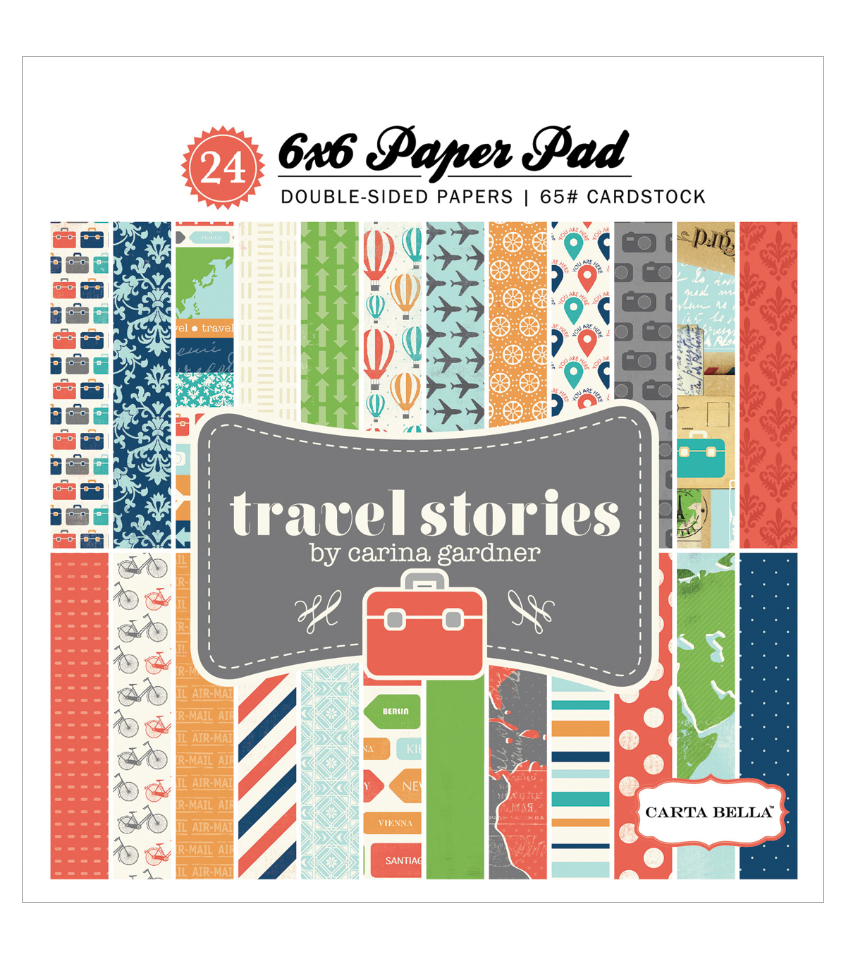 6x6 -travel Stories P Pad