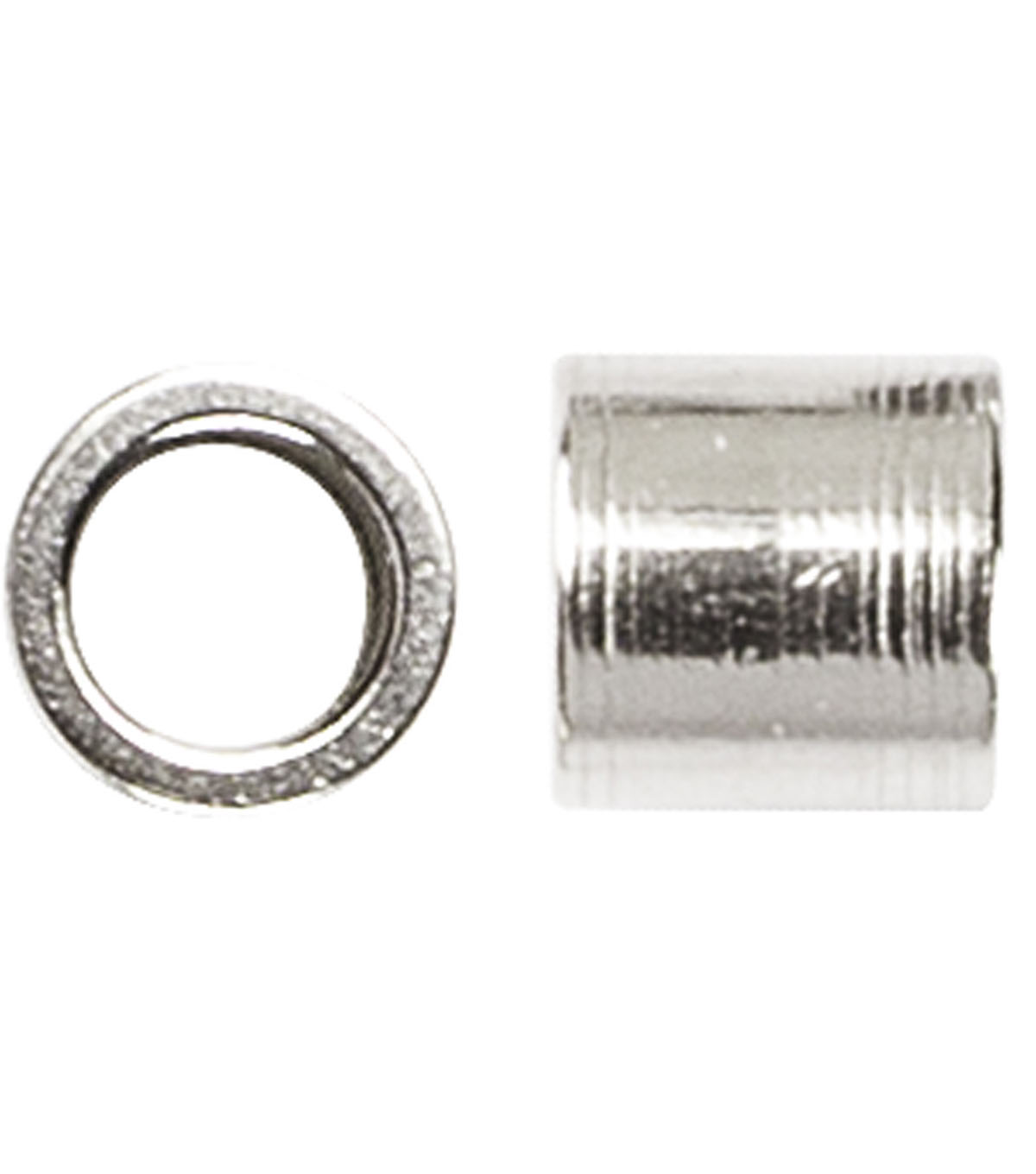 36 Piece Crimp Bead Stainless Steel