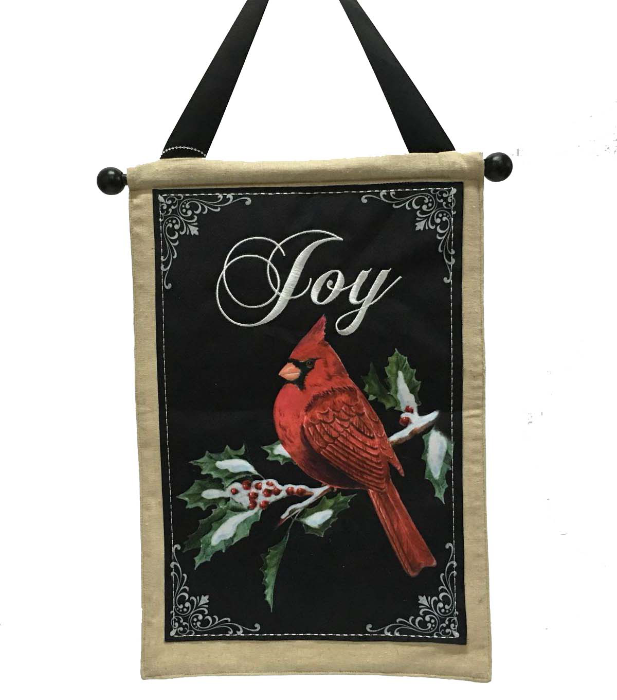 Maker\u0027s Holiday Cardinal Joy Banner