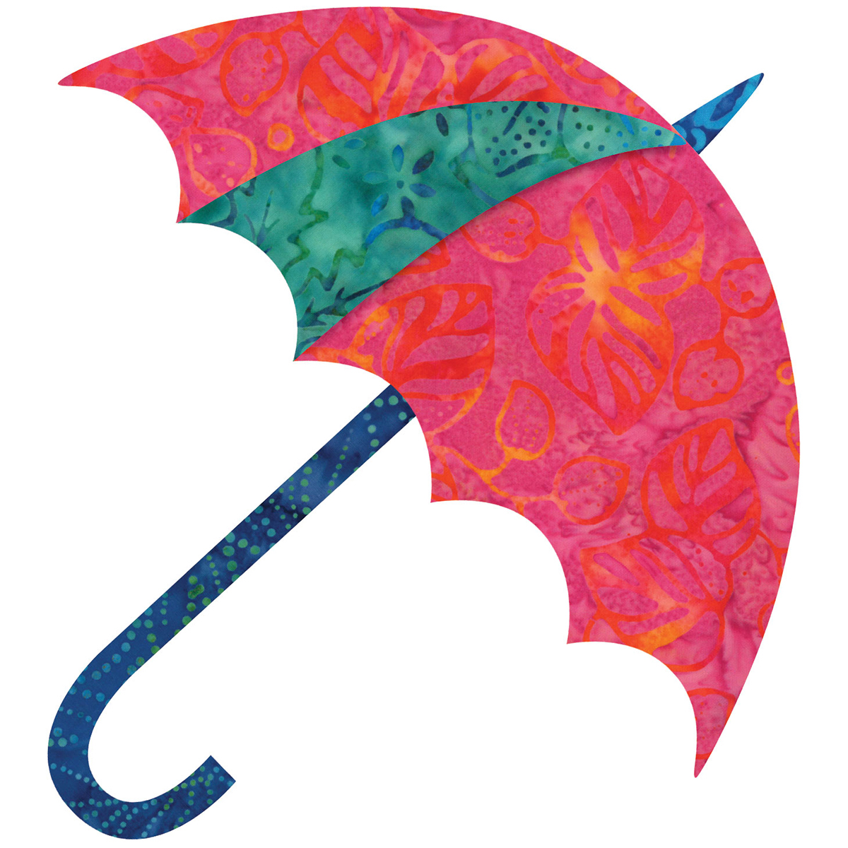 GO! Fabric Cutting Dies-Dancing Umbrella By Edyta Sitar