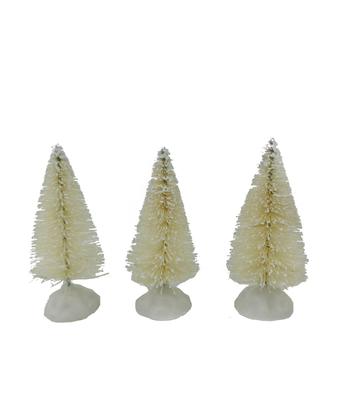 Maker\u0027s Holiday Christmas 3 Pack Mini Trees-White