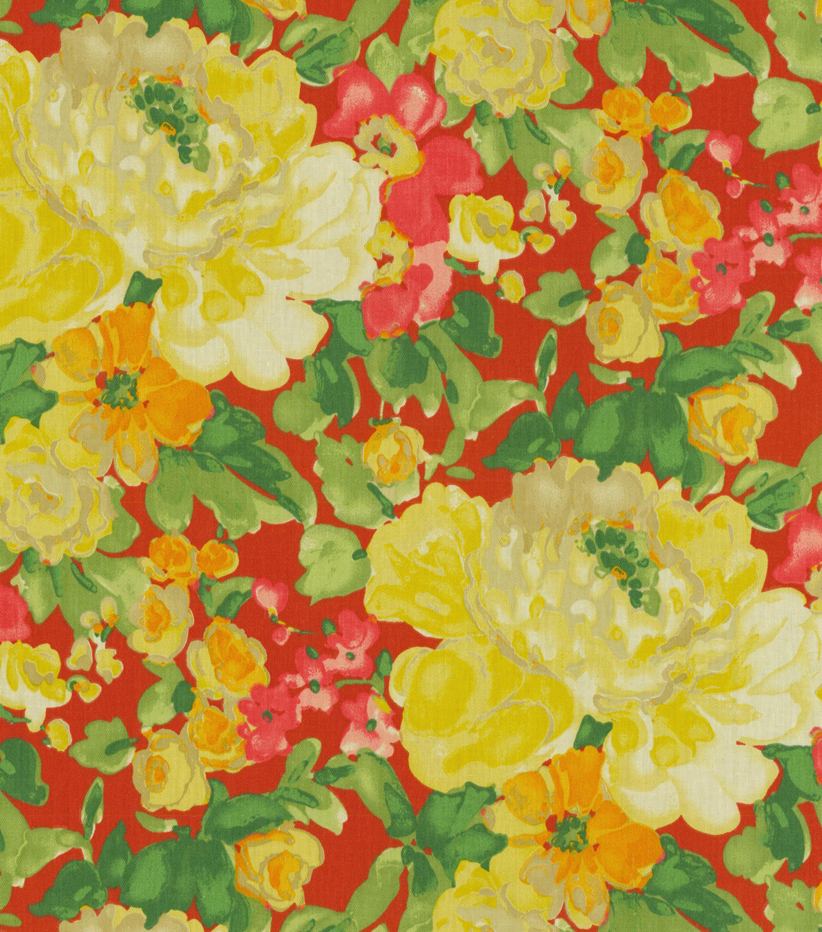 Home Decor 8\u0022x8\u0022 Fabric Swatch-Waverly Blossom Boutique Poppy