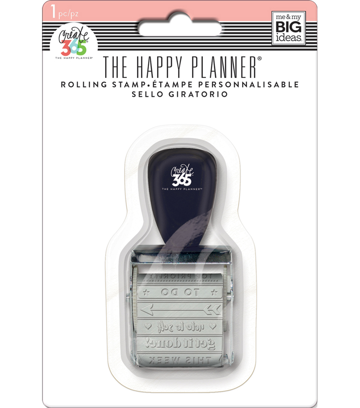 The Happy Planner Rolling Stamp-Rose-12 Titles