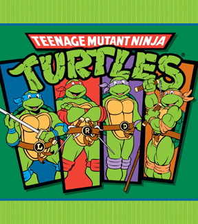 "No Sew Fleece Throw 48""-Teenage Mutant Ninja Turtles"