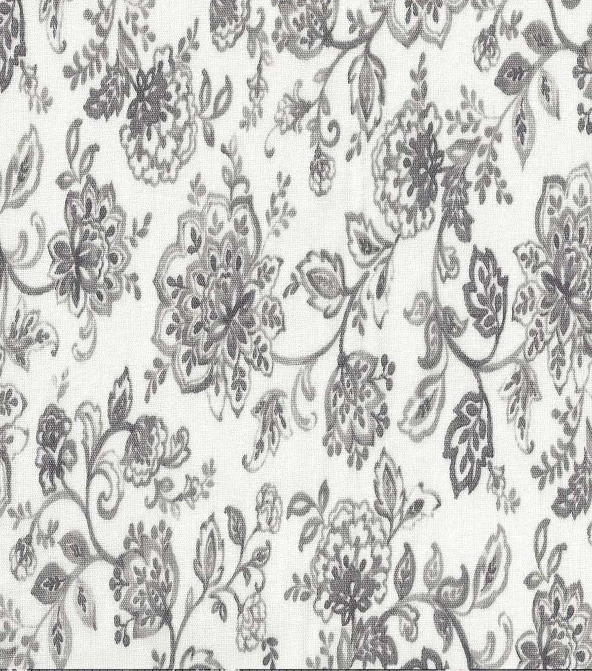 Keepsake Calico™ Cotton Fabric 44\u0022-Tonality Grey