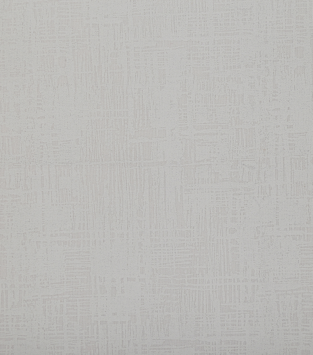 "Wide Cotton Fabric 108""-White Crosshatch"