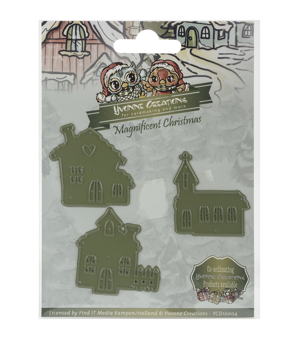 Yvonne Creations Christmas Die-Little Village