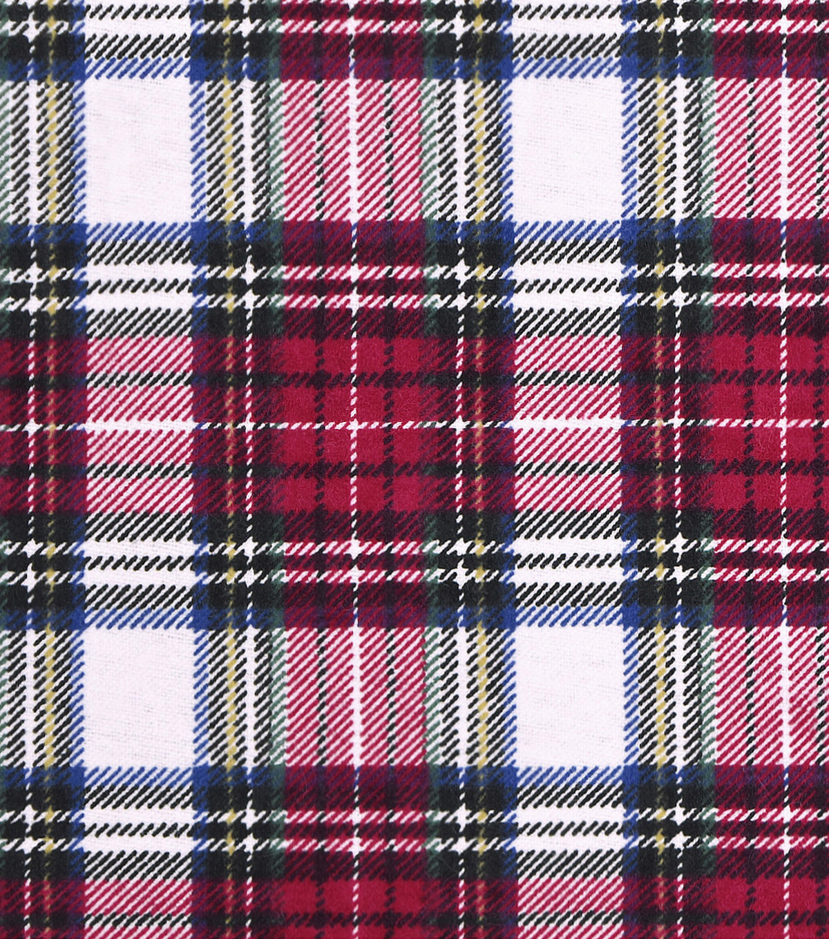 Snuggle Flannel Fabric 43''-Traditional Tartan Plaid