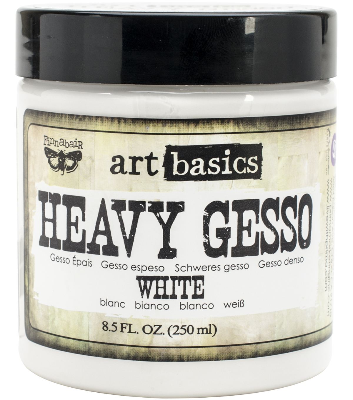 Prima Marketing Art Basics Heavy Gesso Paint 8.5 oz