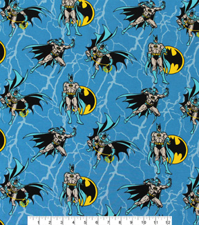 DC Comics Batman Cotton Fabric 58\u0022-Rope Design