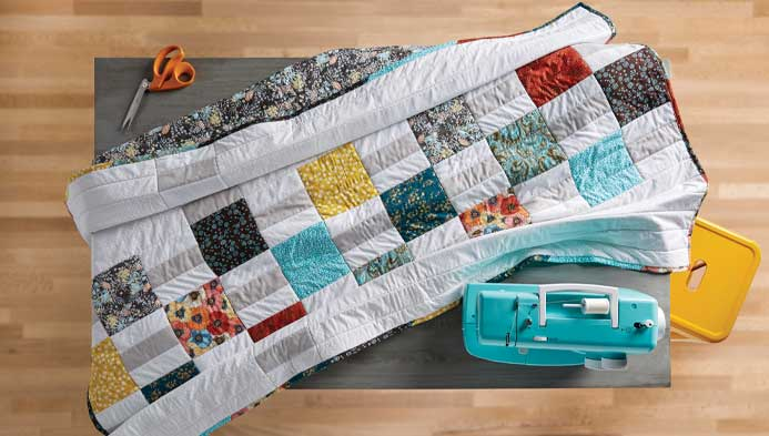 Blocks And Ladders Quilt