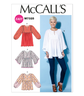 McCall's Misses Top-M7325