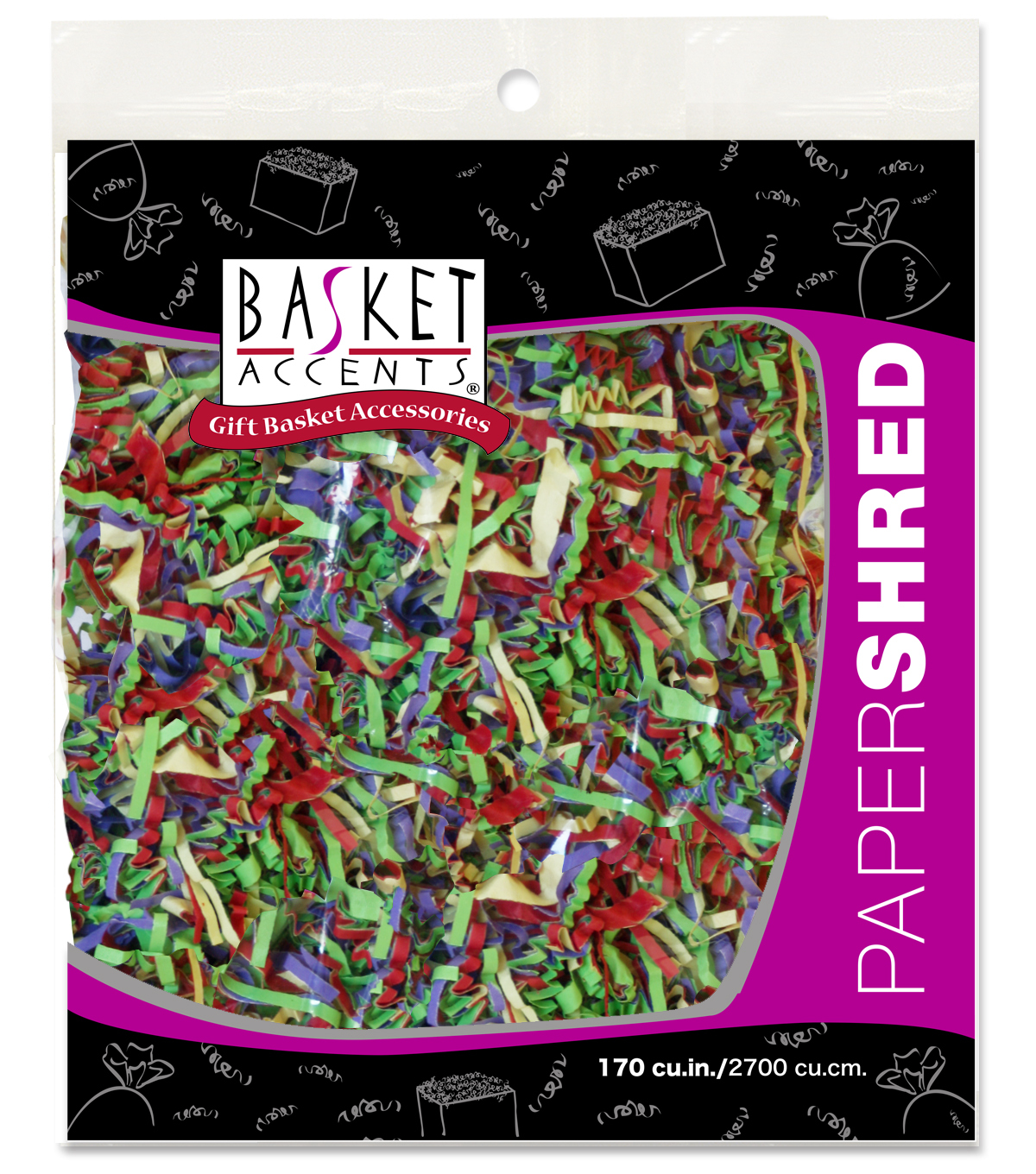 Paper Shred Bright Mix-4oz