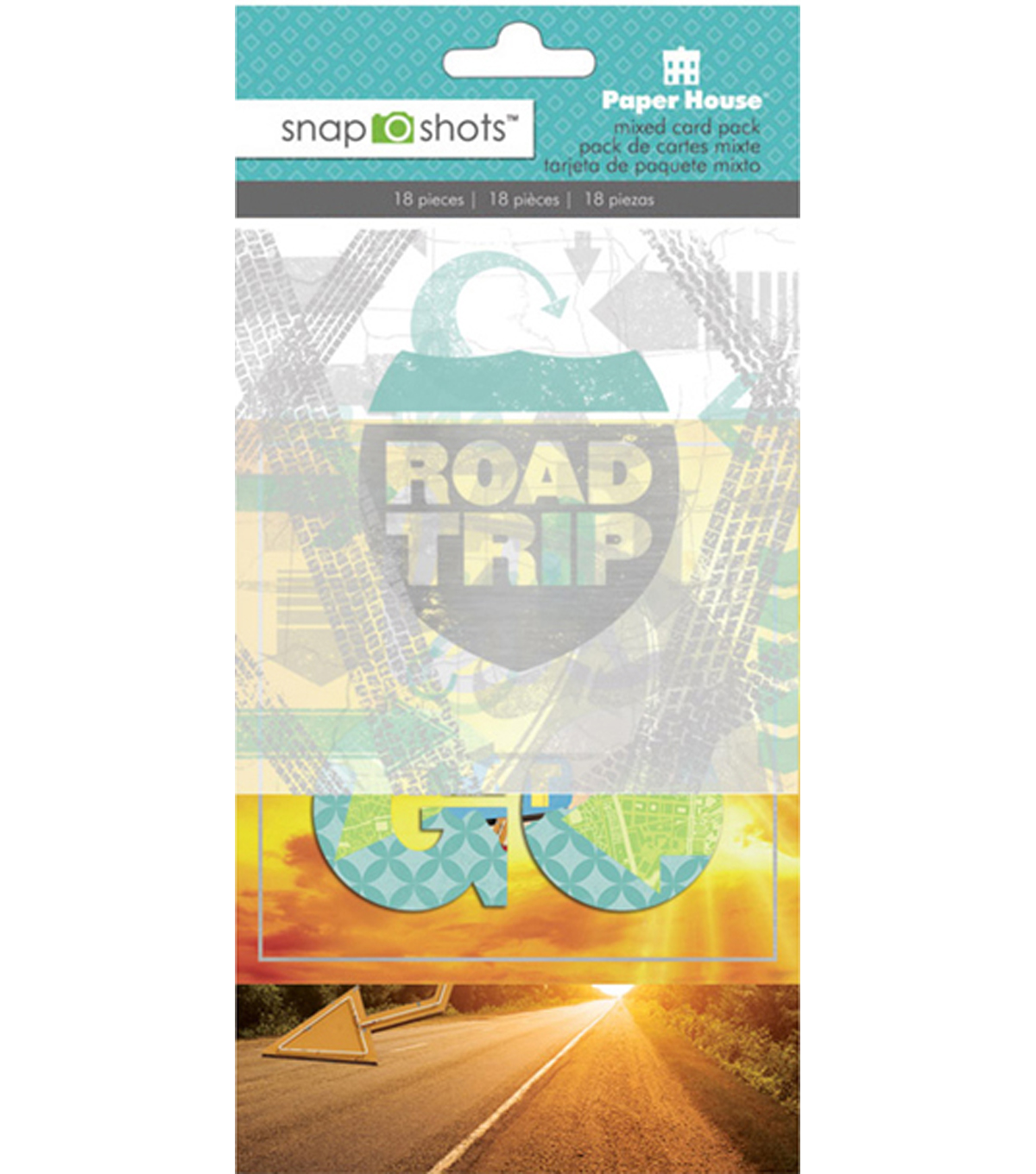 Snapshots Cards-Road Trip