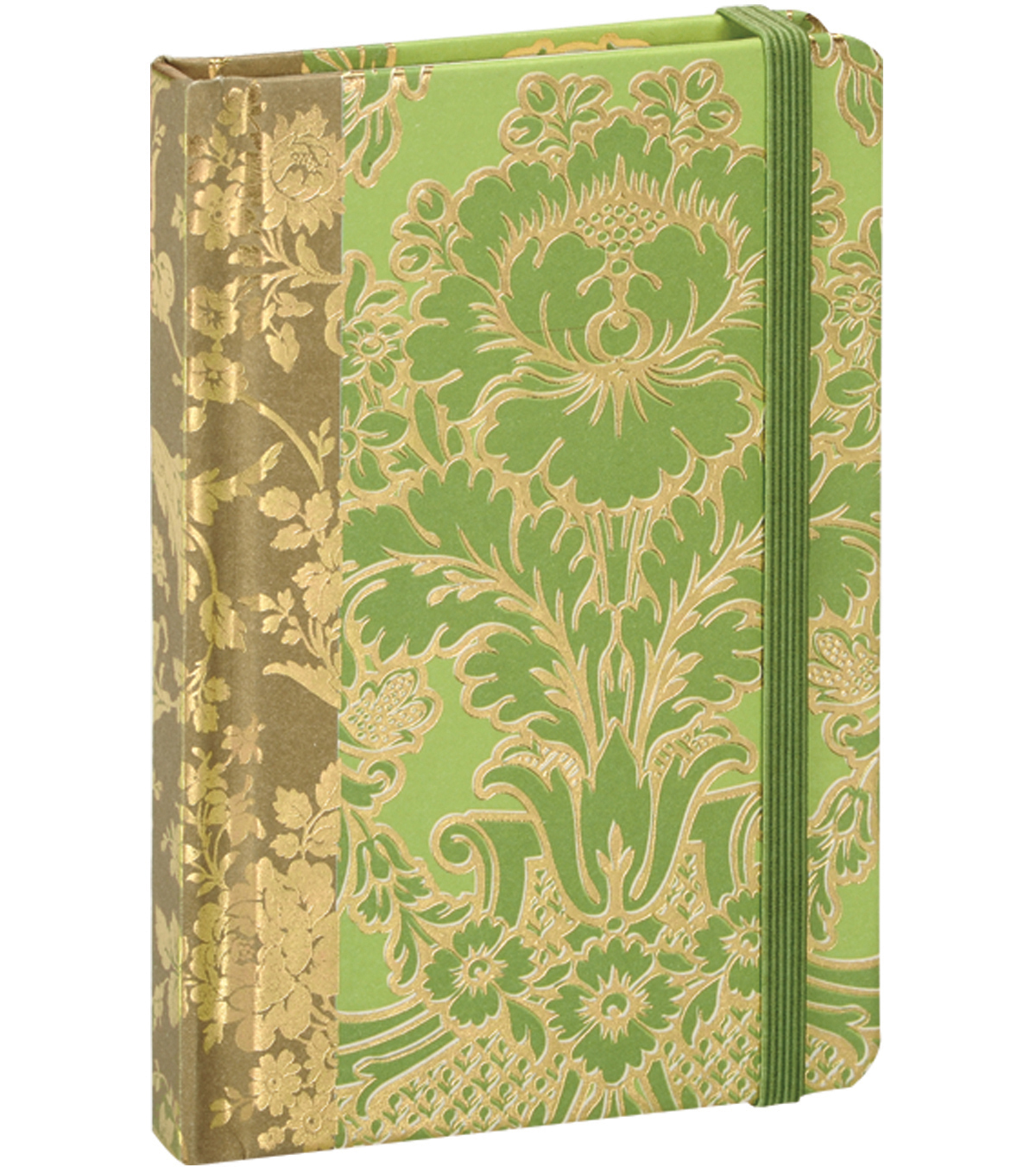 Anna Griffin Green Solid Rnd Corner Notebook
