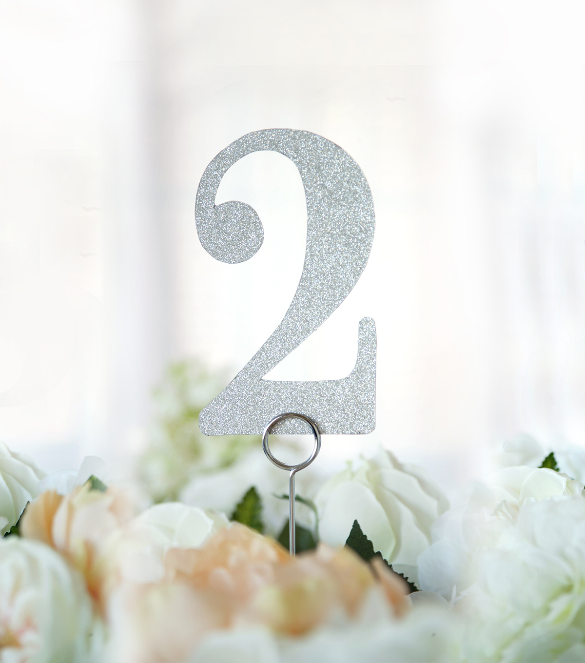 Glitter Table Numbers 1-12