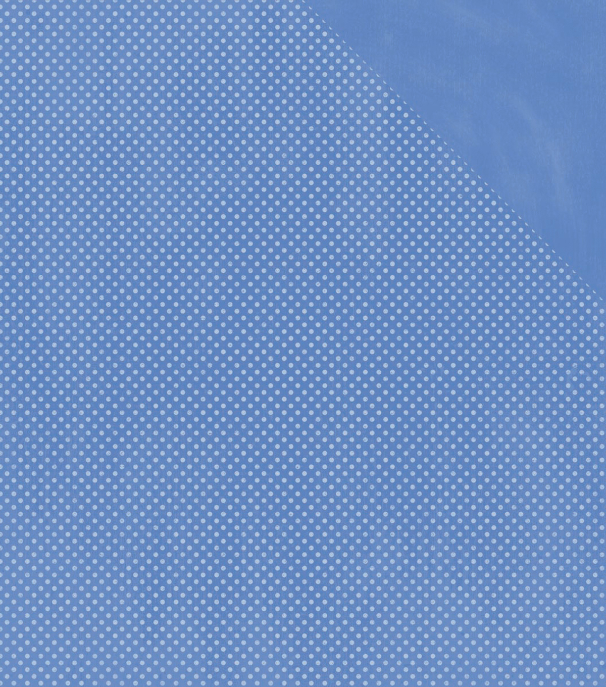 BoBunny Double Dot Double-Sided Textured Cardstock 12\u0022X12\u0022-Periwinkle