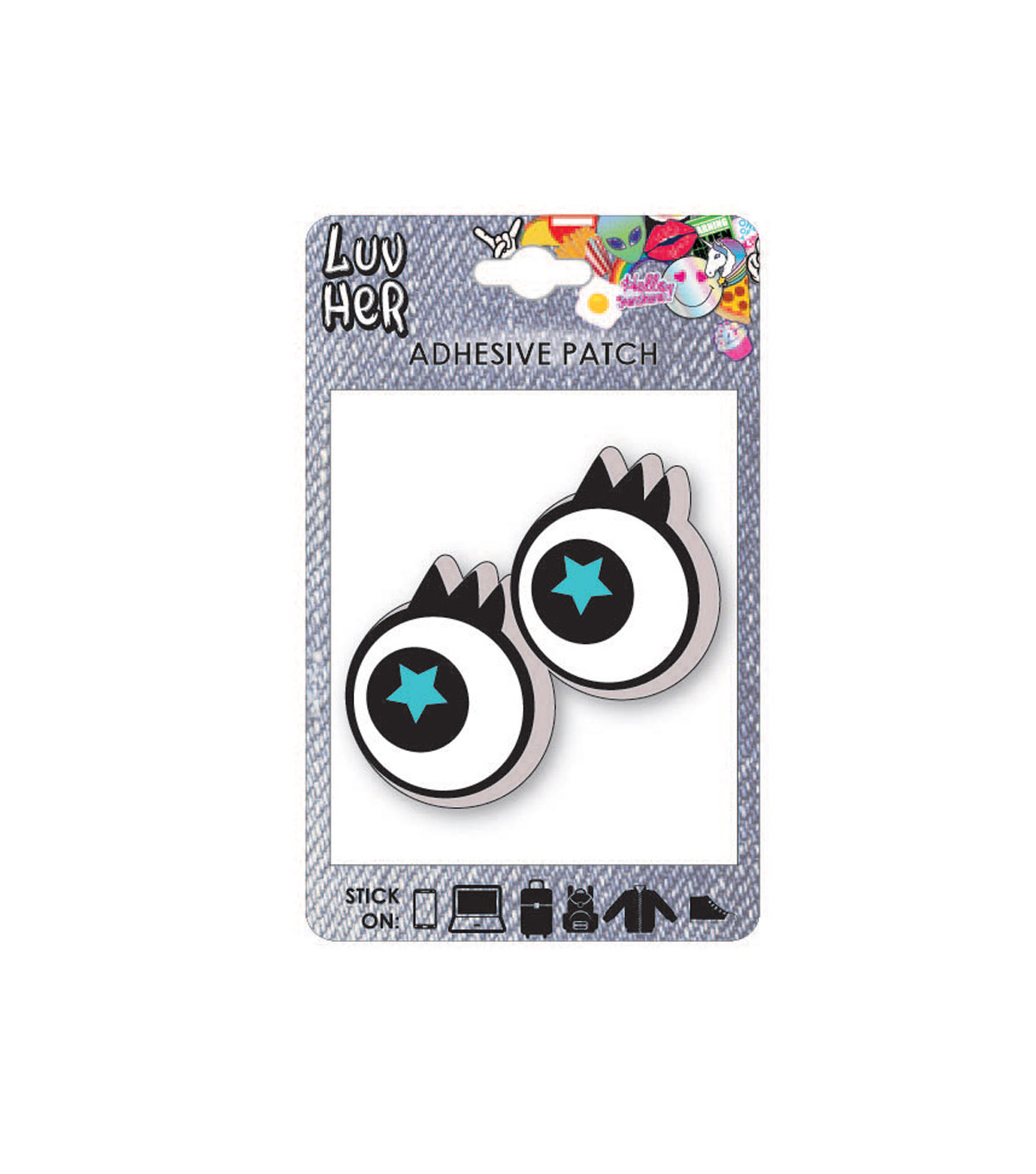 Eyes Adhesive Patch