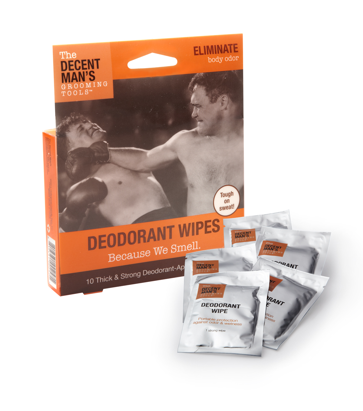 The Decent Man\u0027s Grooming Tools-Deodorant Wipes