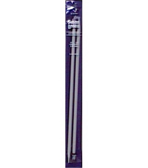"Susan Bates Quicksilver Single Point Knitting Needles 14""-Size 11"