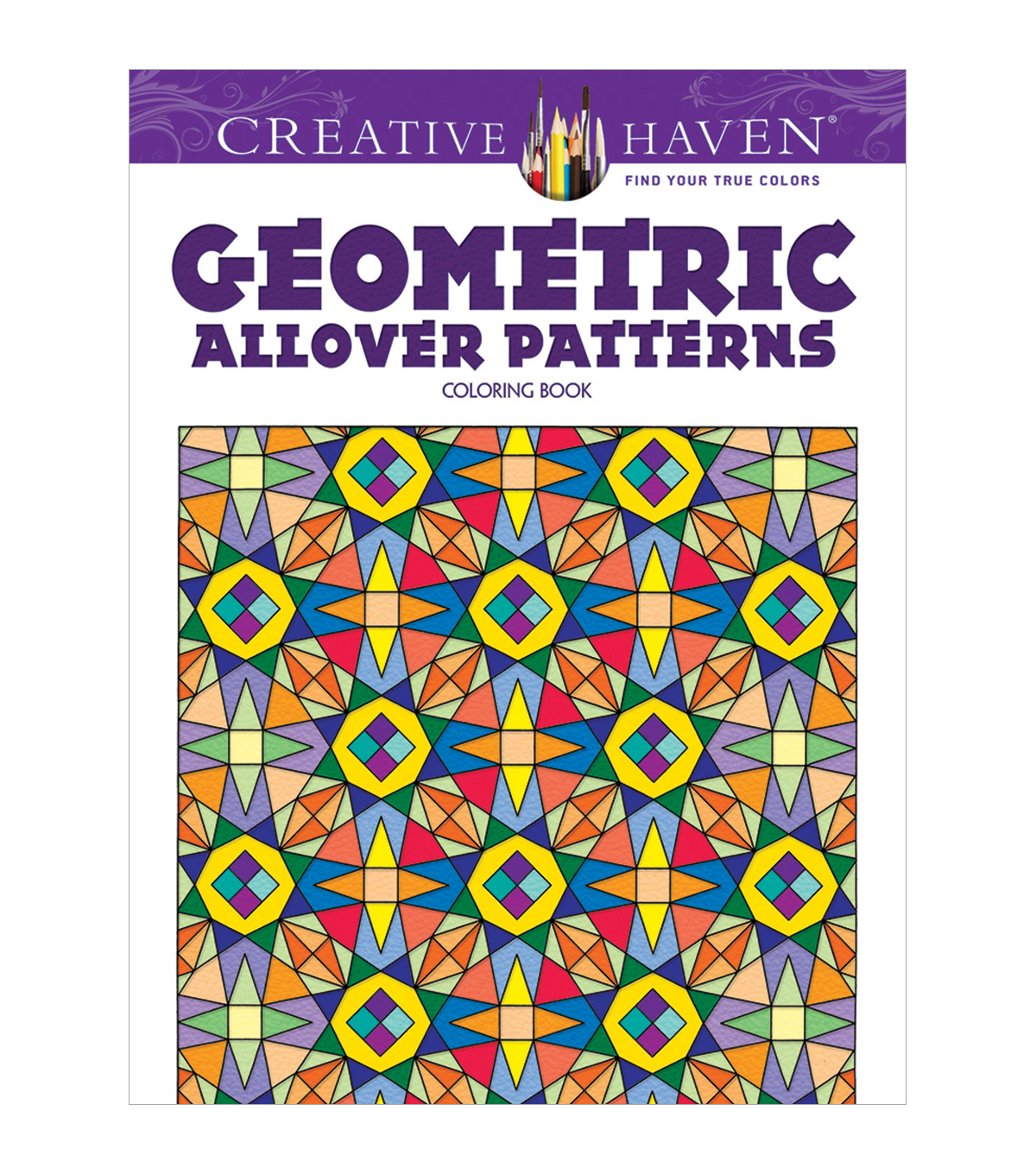 Dover Creative Haven Geometric Patterns Coloring Book